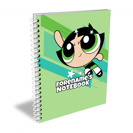Powerpuff Girls Comic Buttercup Notebook A4