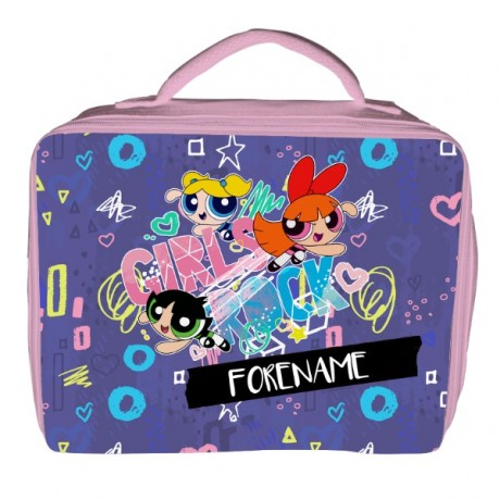 Powerpuff Girls Girls Rock Insulated Lunch Bag - Pink