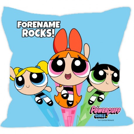 Powerpuff Girls Group Cushion