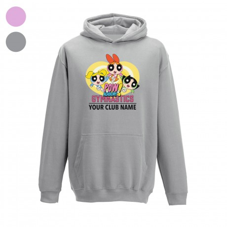 Powerpuff Girls Gymnastics Club Kids Hoodie