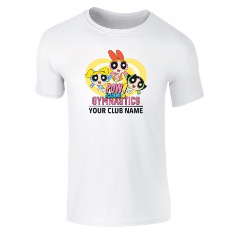 Powerpuff Girls Gymnastics Club Kids T-Shirt