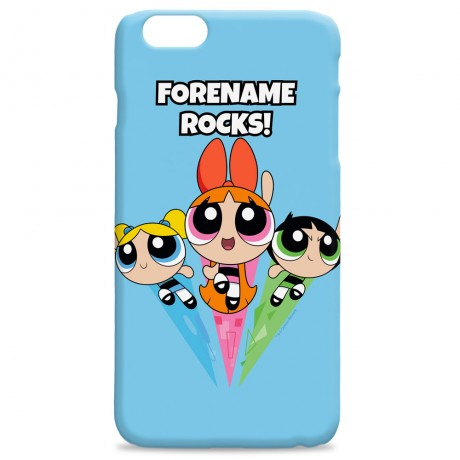 Powerpuff Girls Pattern Group iPhone Case