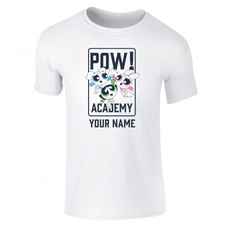 Powerpuff Girls Pow Academy High Five Kids T-Shirt