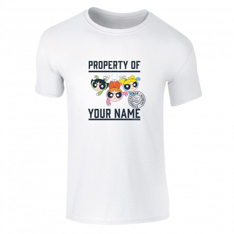 Powerpuff Girls Property of Name Kids T-Shirt