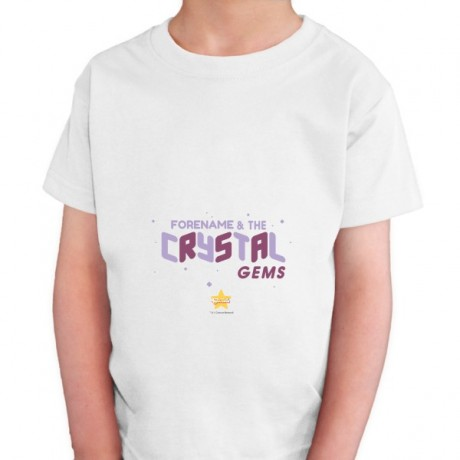Steven Universe Crystal Gem Kids T-shirt