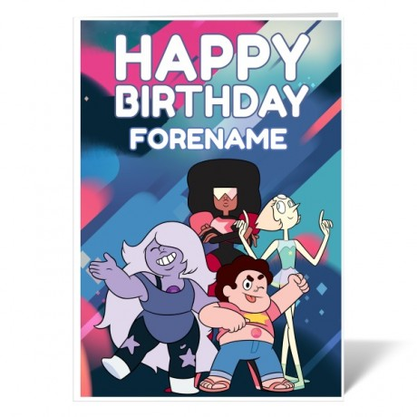 Steven Universe Group Card Birthday Card