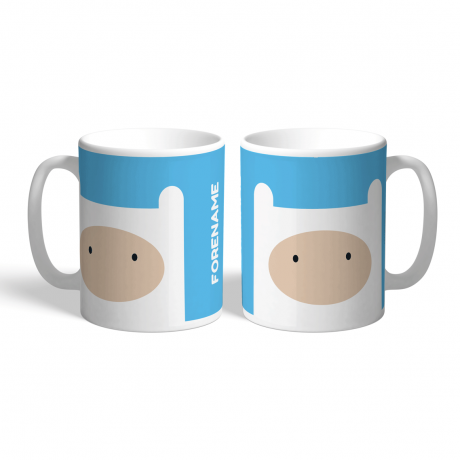 Adventure Time Finn Flat Mug