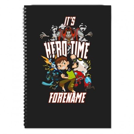 Ben 10 Hero Time Notebook