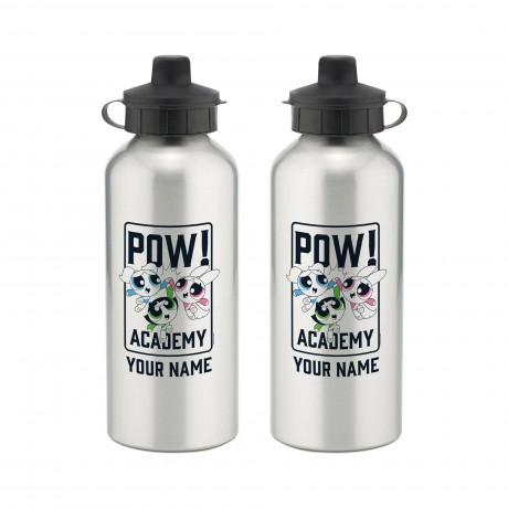 Powerpuff Girls Pow Academy High Five Aluminium Water Bottle